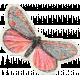Distressed Butterfly Ephemera 03