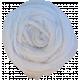 White Fabric Flower