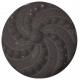 Button 40- Black