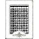 Versailles Glass Frame- White