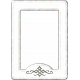 Versailles Glass Frame- White
