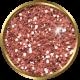 Versailles Glitter Brad- Pink