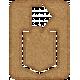 Chipboard Clip- Arrow