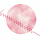 Palestine Vellum with Stitching- Pink