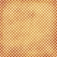 Polka Dots 23 Paper - White & Orange