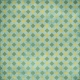 Kitchen Gingham- Teal & Yellow