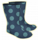 Rainy Days- Rain Boots Illustration