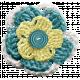 Frozen Crochet Flower- Multi Color