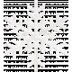 Frozen Paper Snowflake
