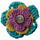 The Best Is Yet To Come- Crocheted Flower