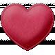 Be Mine- Red Felt Heart