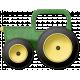 At The Farm- Felt Tractor