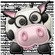 At The Farm- Felt Cow 1