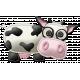 At The Farm - Felt Cow 2