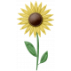 At The Farm - Felt Sunflower 2