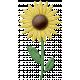 At The Farm- Felt Sunflower 2