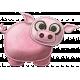 At The Farm- Felt Pig 2