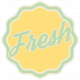 Sunshine & Lemons No2- Fresh Sticker