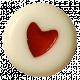 Oh Baby Baby- White Heart Bead 1