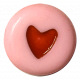 Oh Baby Baby- Pink Heart Bead