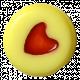 Oh Baby Baby- Yellow Heart Bead 2