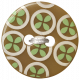 Oh Baby Baby- Brown Fancy Button
