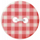 Oh Baby Baby- Red Gingham Button