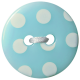 Oh Baby Baby- Blue Polkadot Button 2