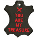 Arrgh!- Treasure Leather Tag