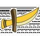 Arrgh!- Sword Sticker