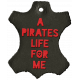 Arrgh!- Pirate Leather Tag