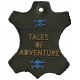 Arrgh!- Tales Leather Tag