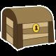 Arrgh! - Treasure Chest Sticker