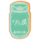August Garden Party- Mason Jar Sticker