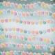 August Garden Party- Blue Lanterns Paper