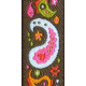 August Garden Party- Straight Paisley Ribbon