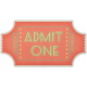 At The Fair- Admit One Ticket