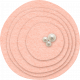 Sweet Dreams- Felt- Circles- Pink