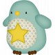 Sweet Dreams-Toy- Penguin- Blue