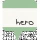 I Love You Man- Hero- Label