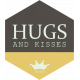 I Love You Man- Hugs and Kisses- Label