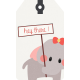 Oh Baby Baby- Elephant Tag