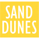Sand And Beach- Sand Dunes Word Label
