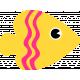 Sand And Beach- Yellow Fish
