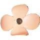Heat Wave Elements- Leather Flower 02