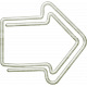 Delightful- Arrow- Paper Clip