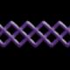 It's Elementary, My Dear- Purple Stitch