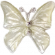 It's Elementary, My Dear- White Butterfly Charm 01