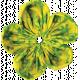 It's Elementary, My Dear- Fabric Flower 03