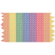 It's Elementary, My Dear- Rainbow Ribbon Washi Tape